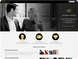 Find a millionaire dating